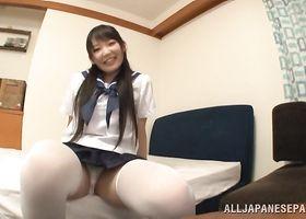 Mate is eager to worshipped girlie Kurumi Tanigawa